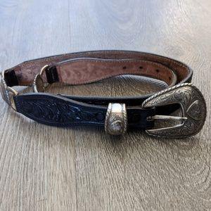 Tony Lama Tooled Leather Belt